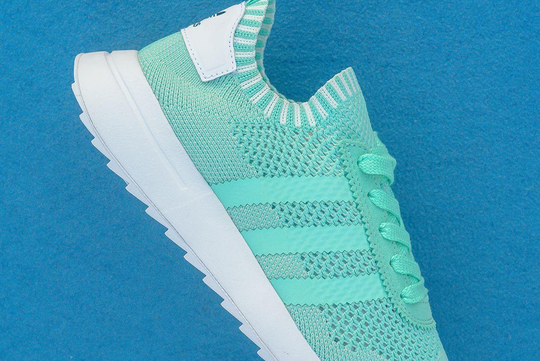 Adidas Flashback Primeknit Wmns Easter Green 1