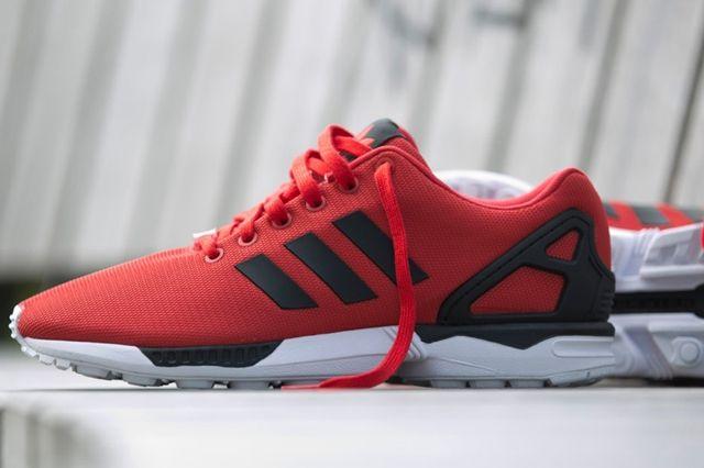 Adidas Zx Flux Poppy Red 3