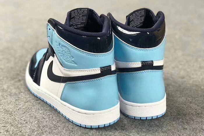 Air Jordan 1 Unc Obsidian Blue Chill Cd0461 401 Release Date 7