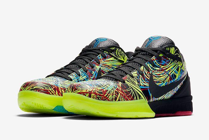 Nike Kobe 4 Protro Wizenard Cv3469 001 Front Angle