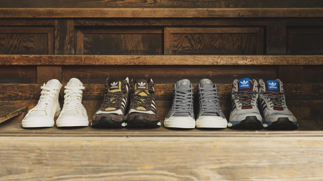 HUMAN MADE x adidas Collection