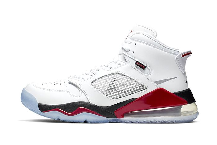 Jordan Mars 270 Fire Red Cd7070 100 Release Date Lateral