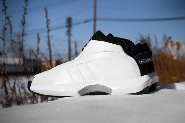 Adidas Crazy 1 White Sideview2