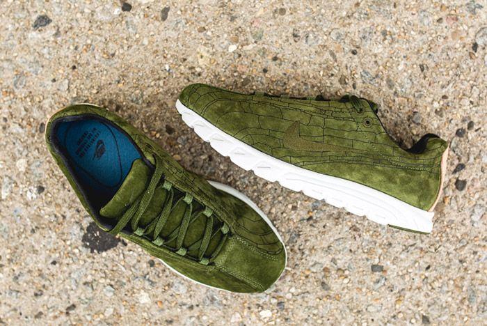Nike Mayfly Leather Prm Legion Green 3