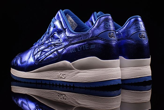 Asics Gel Lyte Iii Wmns Metallic Blue 2