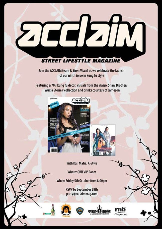 Acclaim Issue 9 Launch 3