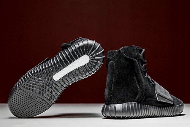 Adidas Originals Triple Black Yeezy Boost 750 2 640X4261