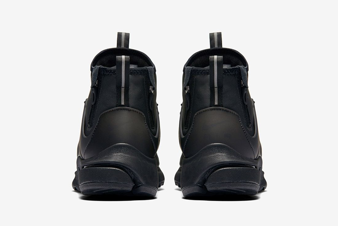 Nike Air Presto Utility Mid Black 1