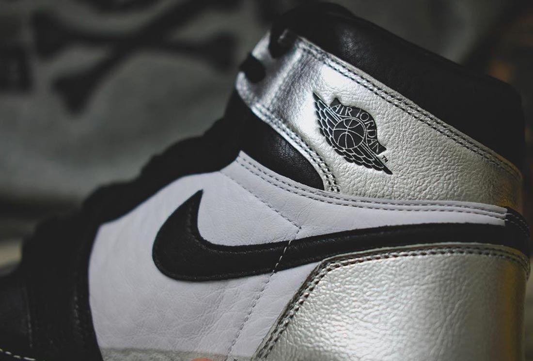 Air Jordan 1 High 'Silver Toe'