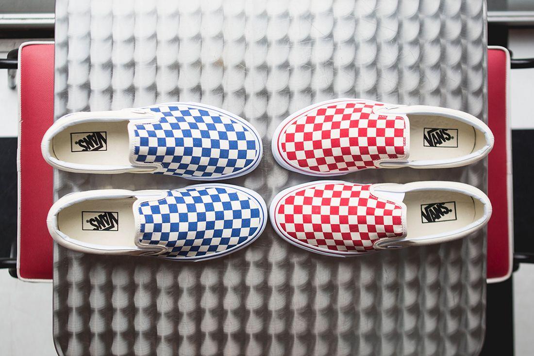 Vans Slip On Checkered Sneaker Freaker 12