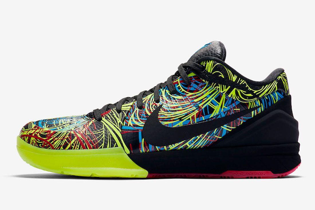 Nike Kobe 4 Protro Wizenard Cv3469 001 Release Date Side