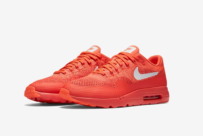 Nike Air Max 1 Ultra Flyknit Red 2