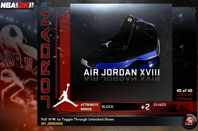 Jordan Nba 2K11 Xviii 1