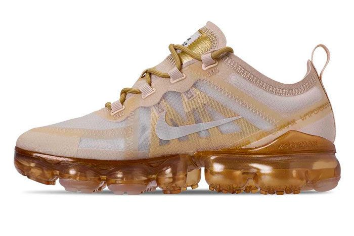 Nike Air Vapormax 2019 Gold Release
