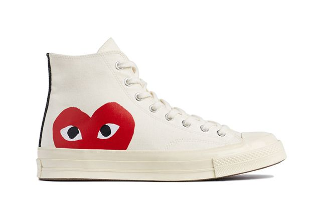 Comme Des Garcons Play X Converse Chuck Taylor All Star 70 Collection 2
