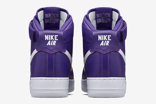 Nike Air Force 1 High Purple3