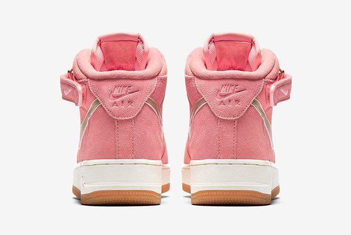Nike Air Force 1 Mid Bright Melon 4