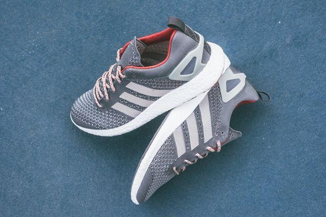Adidas Primeknit Pureboost Grey 4