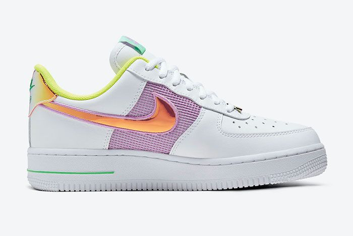 Nike Air Force 1 Low Purple Orange Right