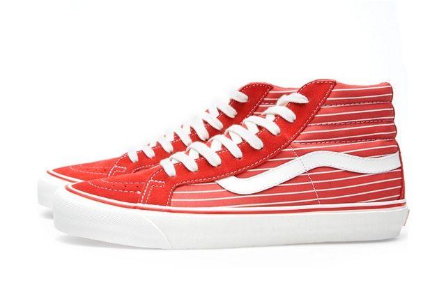 Vans Vault Og Sk8 Hi Lx Stripes Pack 2