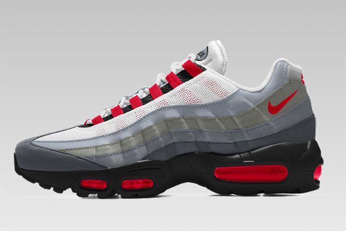 The Air Max 95 Is Now On Nike Id Australia - Sneaker Freaker