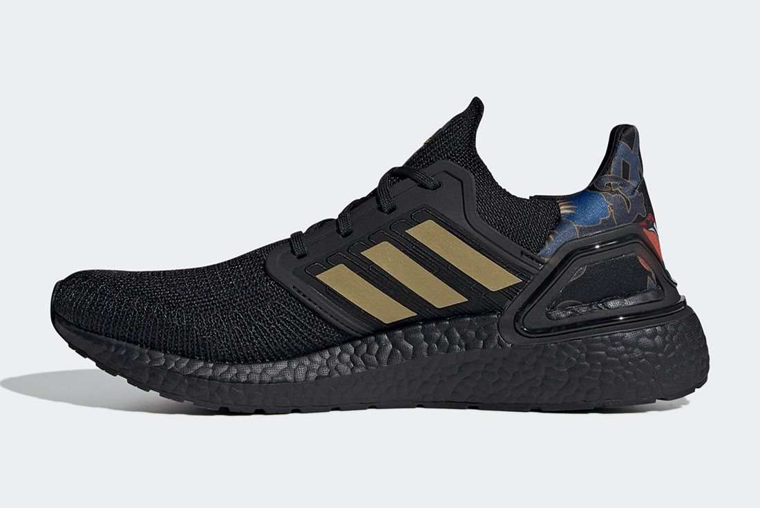 Adidas Ultraboost Cny Black Gold Left