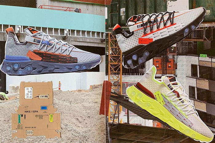 Nike React Runner Ispa Summer 2019 Release Date Collage All Three