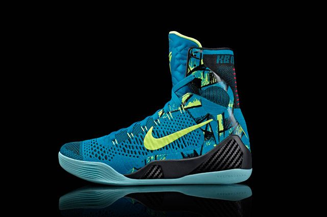 Kobe 9 Perspective Sideview