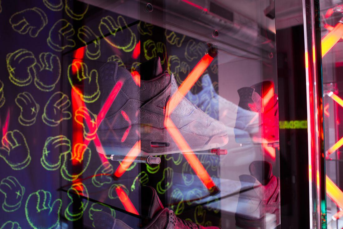 Titolo Launches Kaws X Air Jordan 4 Pop Up In Zurich7