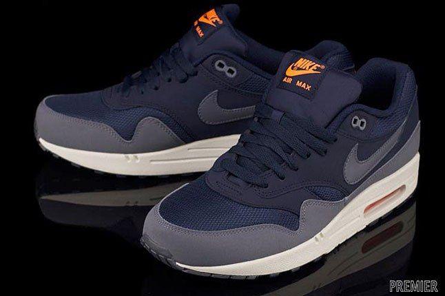 Nike Air Max Blue Orange 1