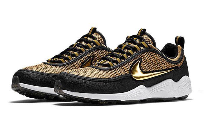 Nike Air Zoom Spiridon Metallic Gold 1