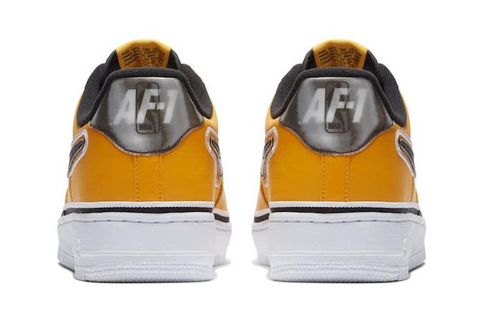 Nba Nike Air Force 1 Low Yellow Black 3