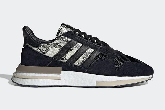 Adidas Zx 500 Rm Snakeskin Lateral