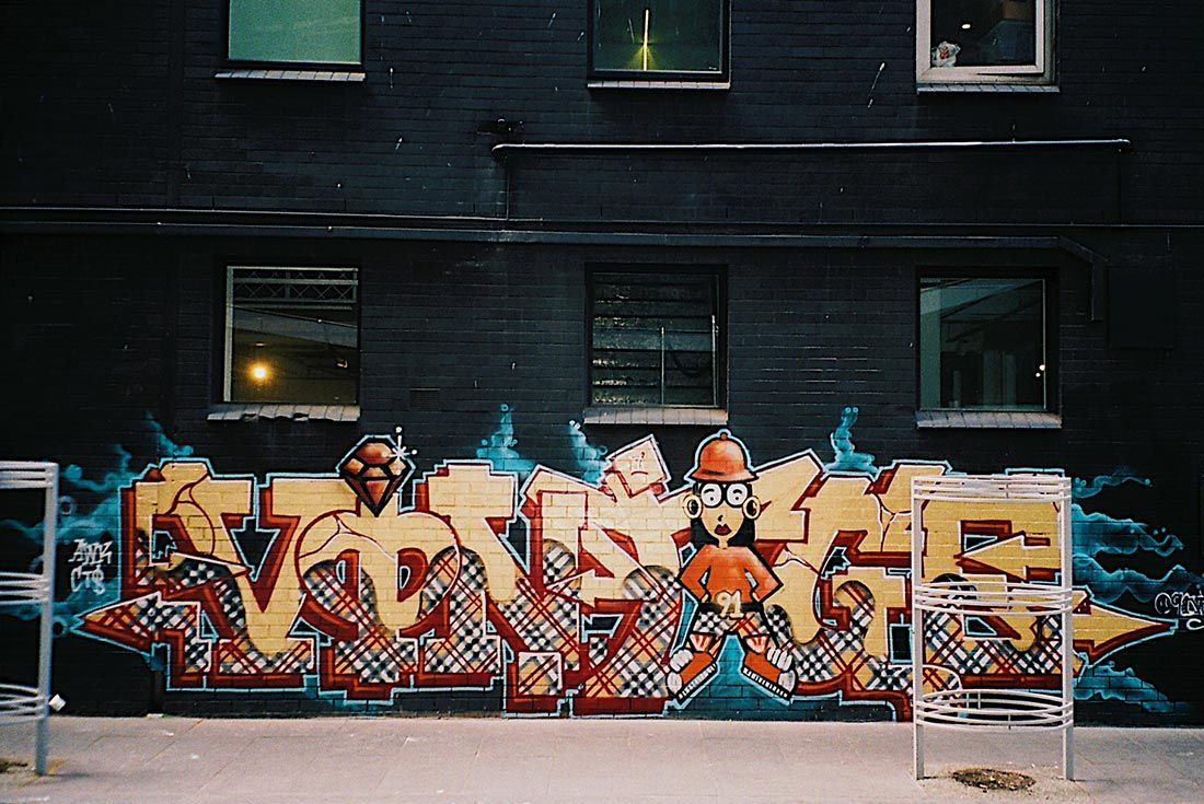 91 Vintage Event Recap Graffiti