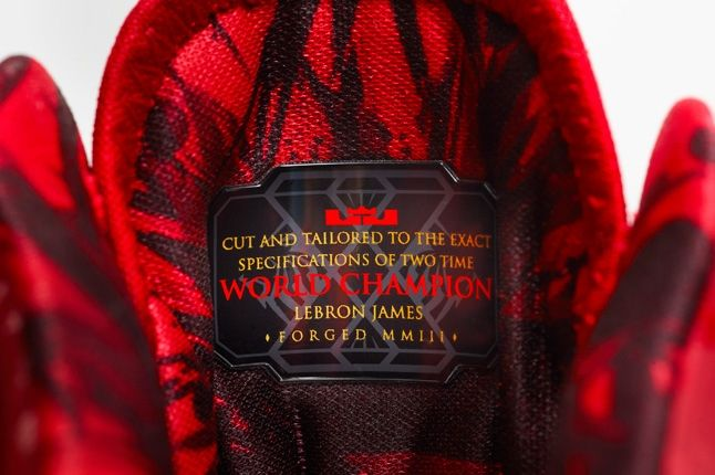 Nike Lebron X Elite Backtoback Pack Red Tongue Detail 1