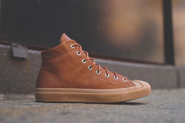 Converse Jack Purcell Jack Mid Brown 1