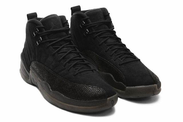 Drake Air Jordan Octobers Very Own Black 12 Angle