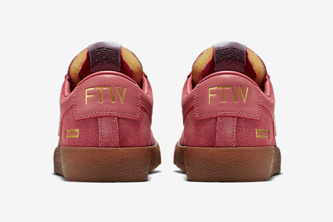 Supreme X Nike Sb Blazer 1