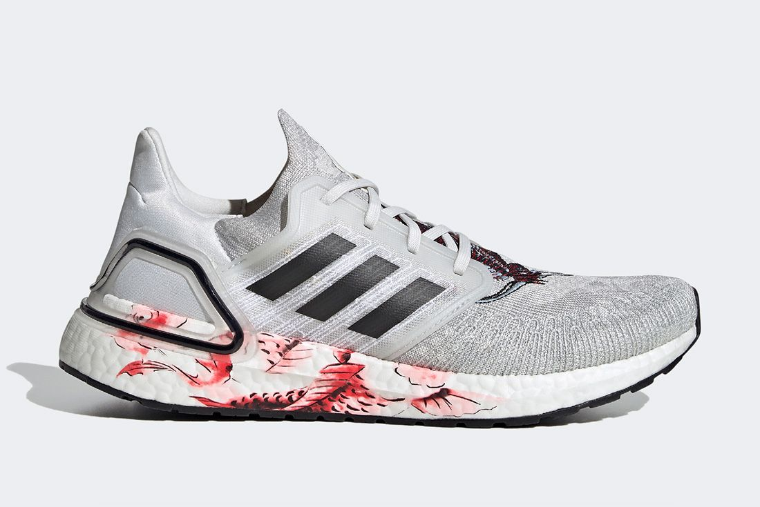 Adidas Ultraboost Cny Grey Right