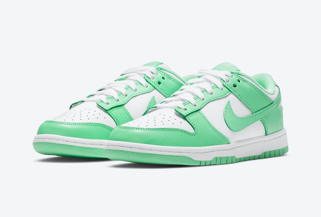 Nike Dunk Low 'Green Glow'
