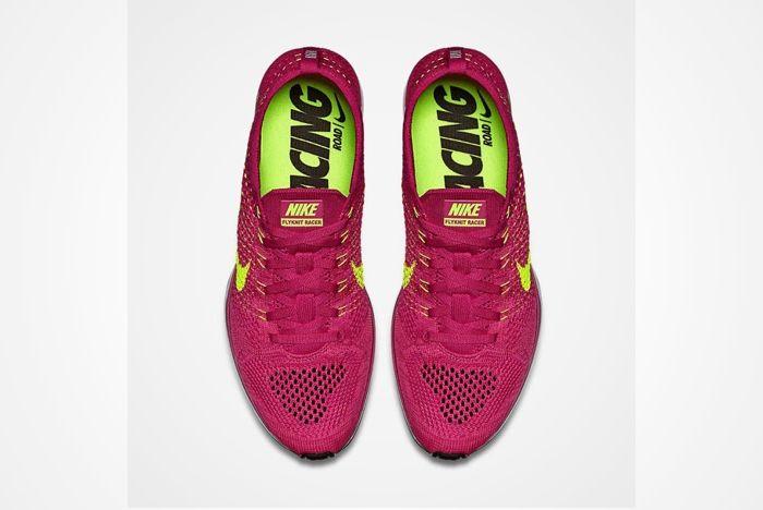 Nike Flyknit Racer Wmns Fireberry 3