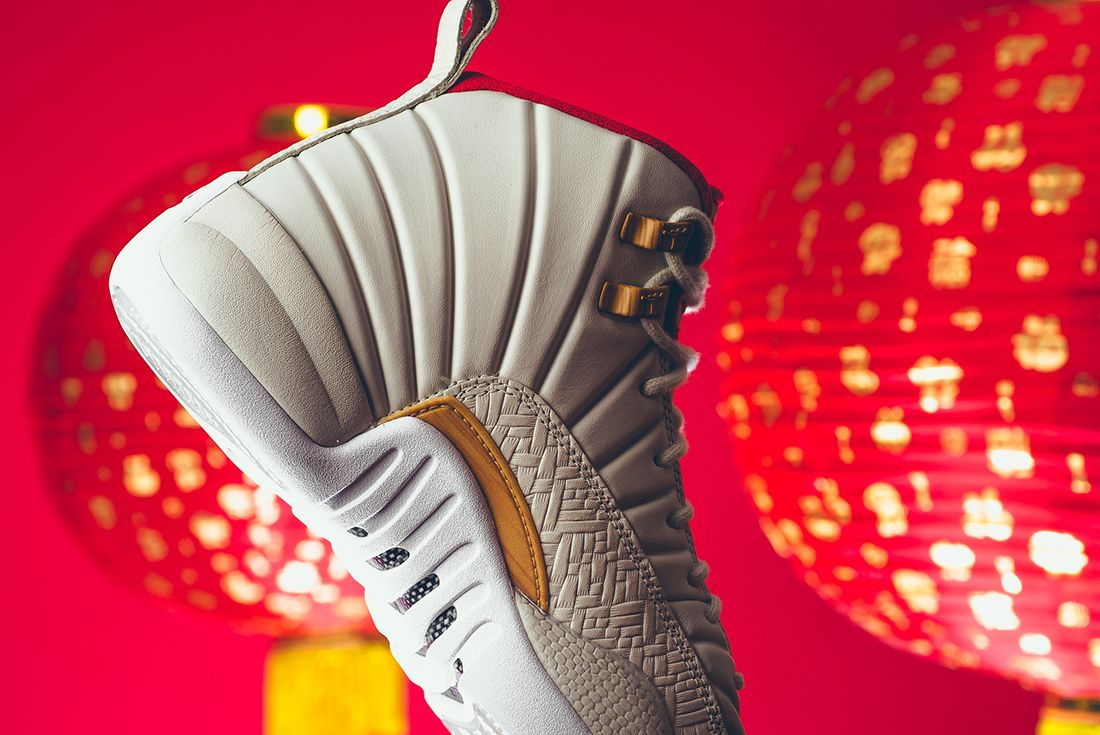 Air Jordan 12 Gs Chinese New Year10