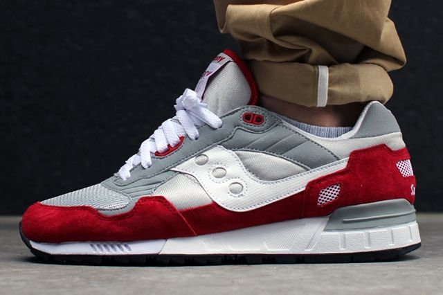 Saucony Shadow 5000 Pack Red Grey 1