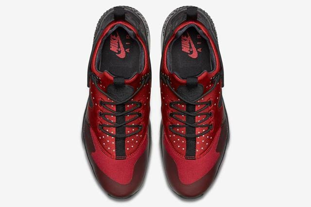 Nike Huarache Utility Blackgym Red4