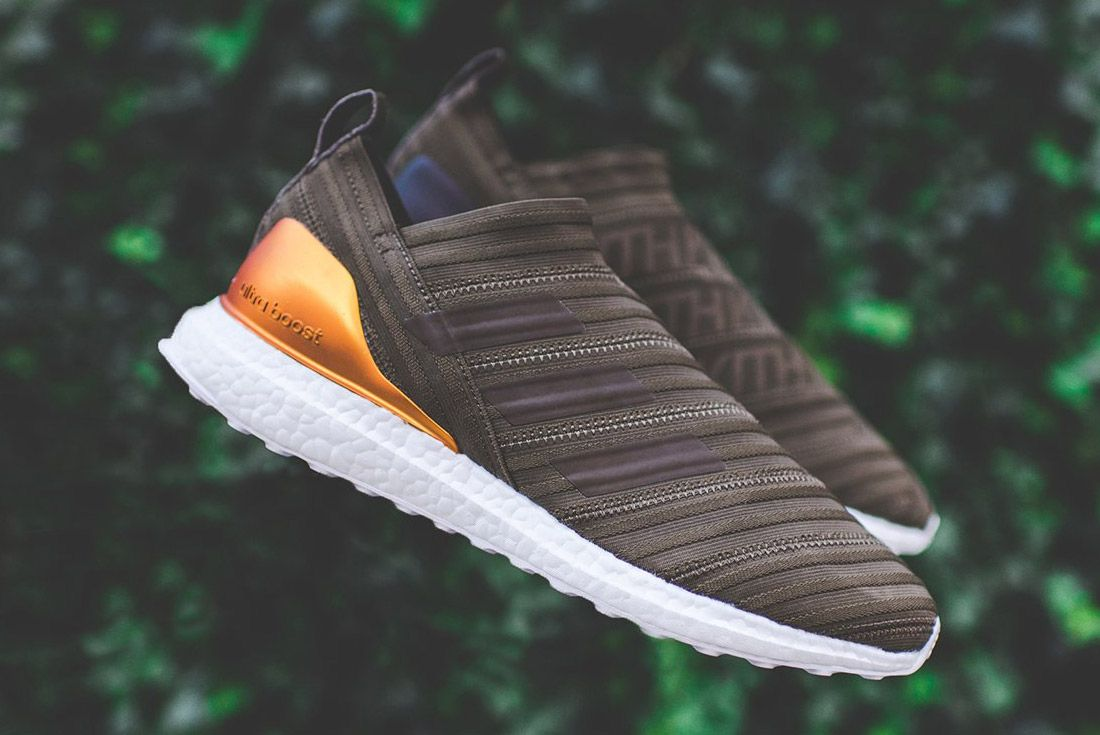 Kith Adidas Nemeziz Brown 13