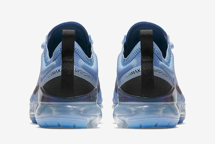 Nike Air Vapormax Aluminium Blue Heel Shot 2