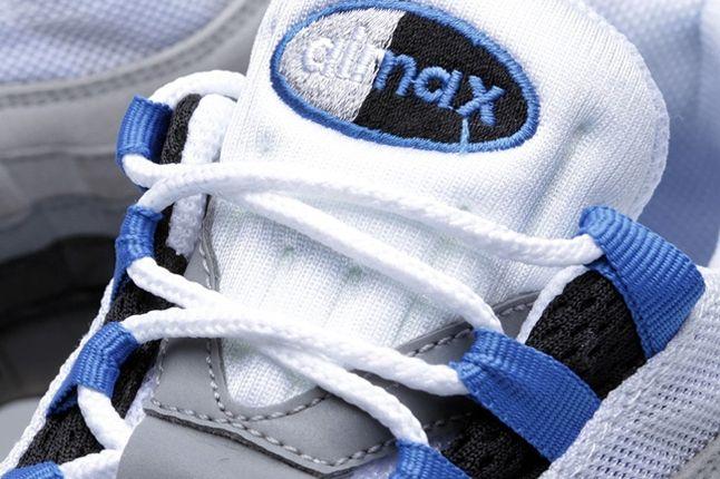 Nike Air Max 95 Grey Blue Tongue 1
