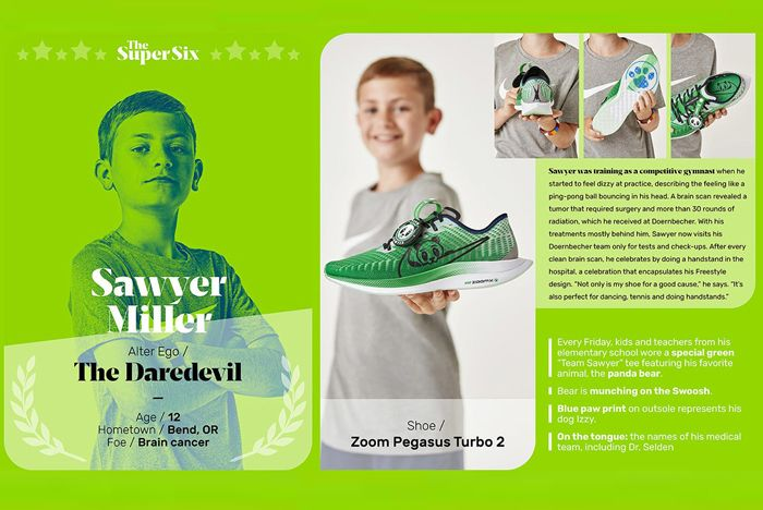 Nike Doernbecher Sawyer Design