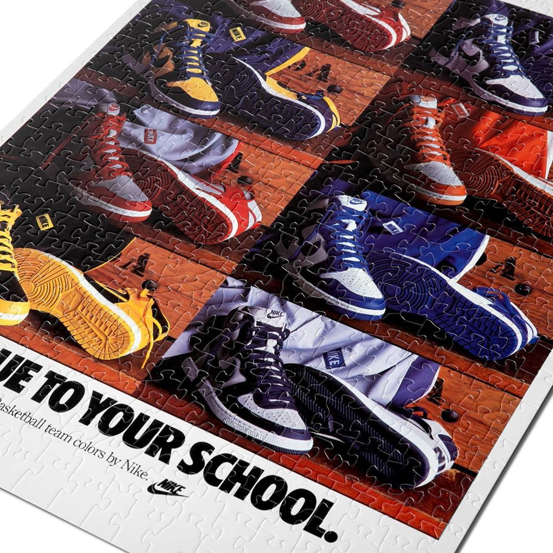 The Nike Jigsaw Puzzle Set is the Perfect Sneakerhead Gift ...