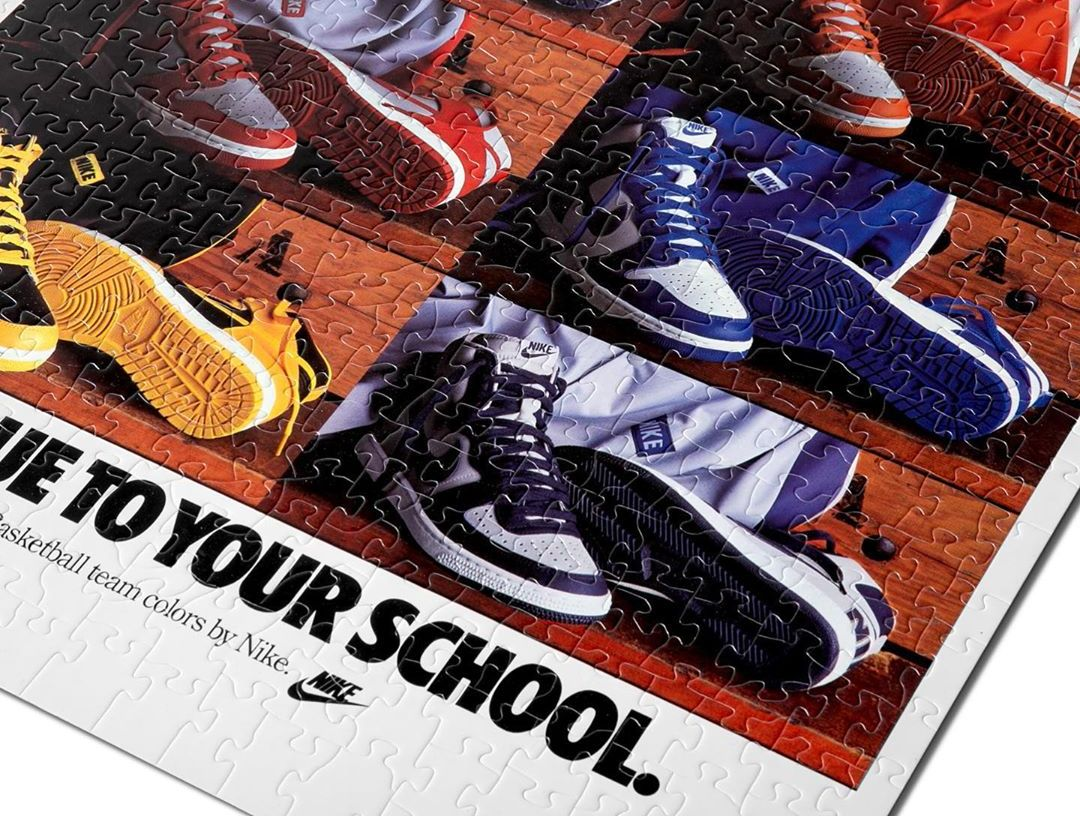 Nike Vintage Ad Jigsaw Puzzle